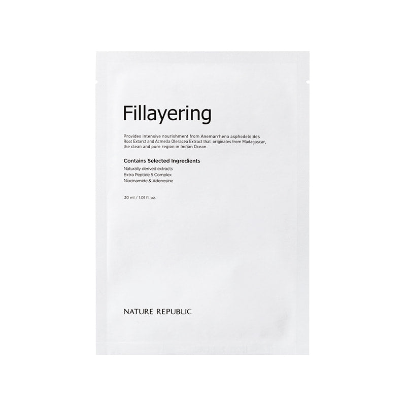 Fillayering Wrinkle Up Ampoule Mask Sheet