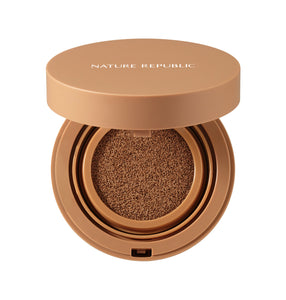 Provence Air Skin Fit One Day Lasting Foundation Cushion N45 Tan Brown