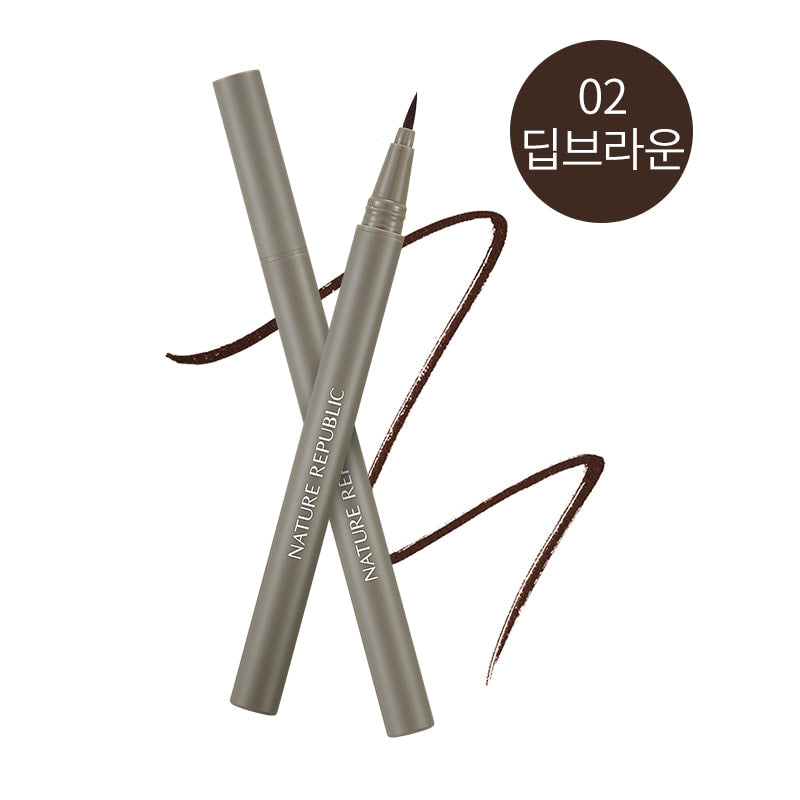 Smudge Proof Eyeliner 02 Deep Brown