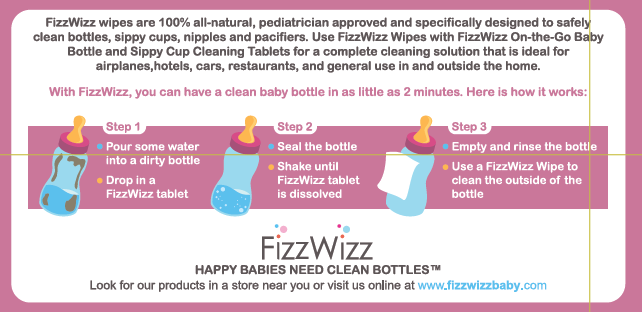 All-Natural Cleaning Tablet & Pacifier Wipes for Baby Bottles & Sippy Cups