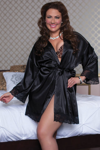 Enchanting  Satin Robe