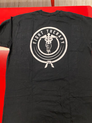 Adult Fight Therapy Black Tee
