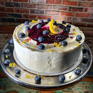 Whole Blueberry Lemon Cake (GF & DF)