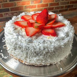 Whole Coconut Creme Cake
