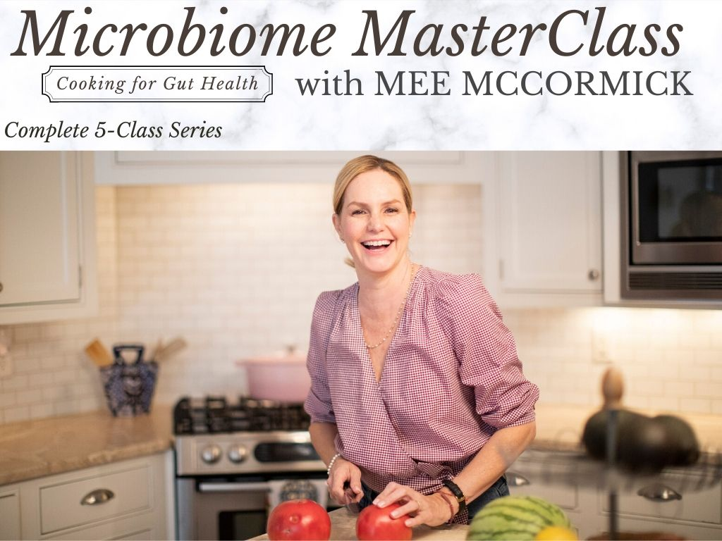 Microbiome MasterClass with Mee McCormick - Complete 5-Class Series
