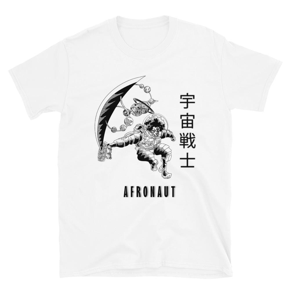 Void Ball S Space Warrior Afronaut Unisex T-Shirt 3131232_473 Void Ball Space Clothing