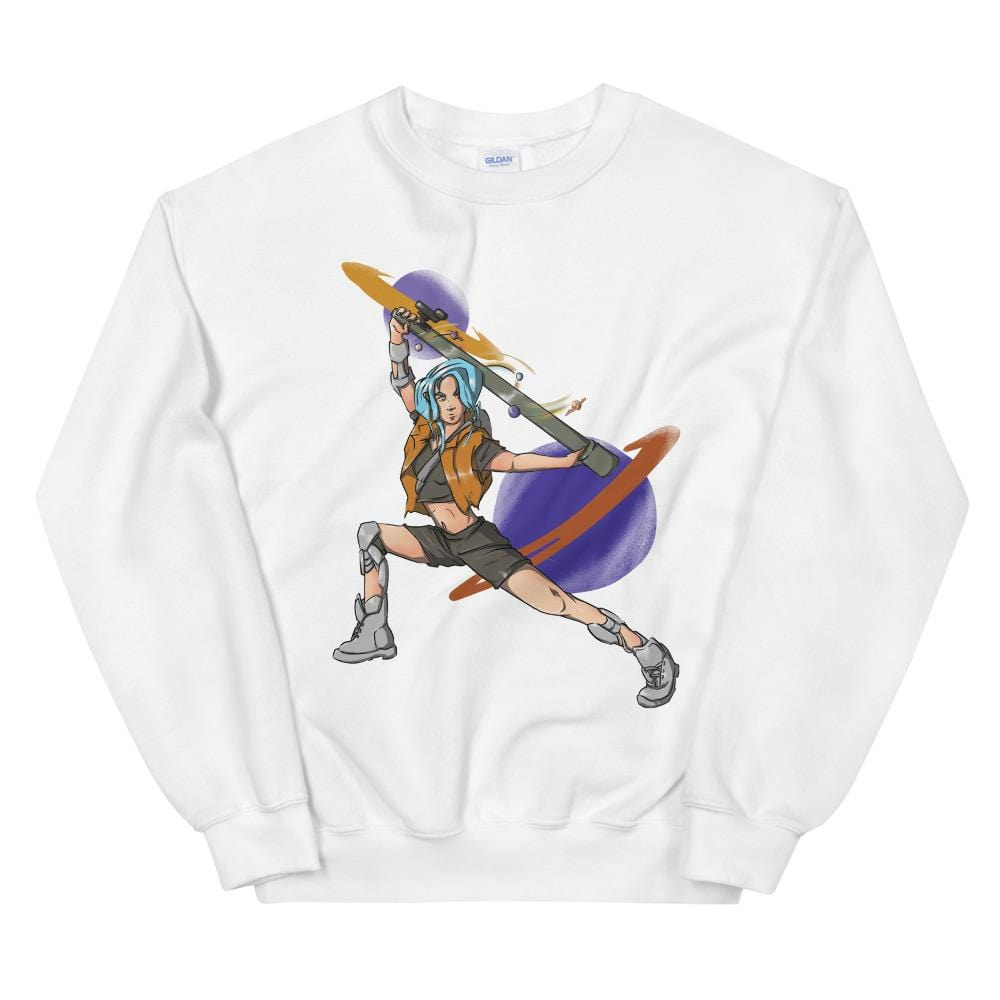 Void Ball S Cyber Space Warrior Xaya Unisex Sweatshirt 1649488_5426 Void Ball Space Clothing