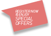 Register now and enjoy Special Offers!
