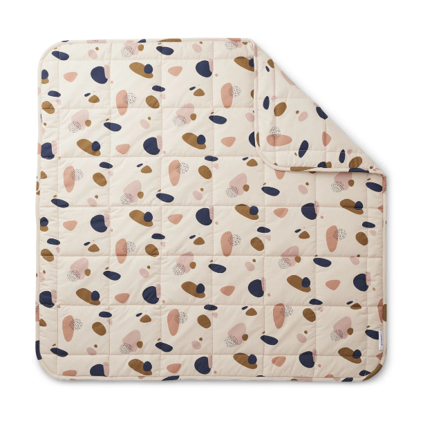 Liewood - Ebbe - Quilt Decke - Bubbly Sandy