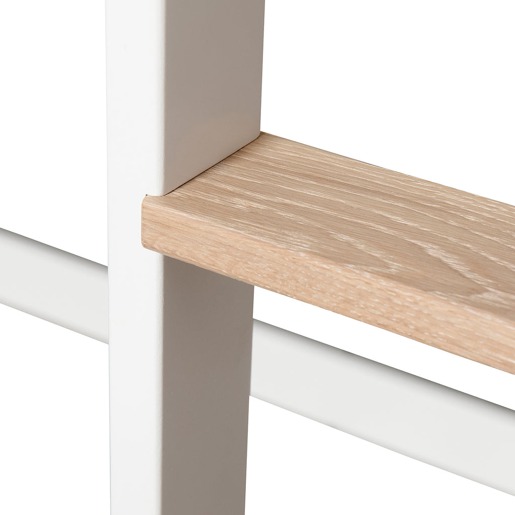 Oliver Furniture - Wood Mini+ - halbhohes Hochbett - Eiche