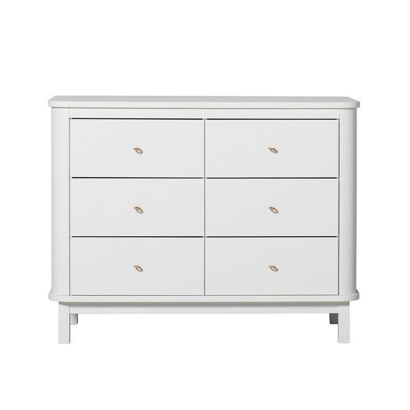Oliver furniture Wood Kommode - weiss