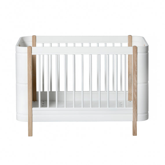 Oliver furniture Wood - Mini+ -Babybett - Eiche