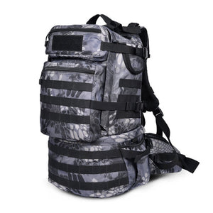 Hot Outdoor Backpack 50l Camping Hiking Backpack Tactical Bag Man Tactical Military Bag Camouflage Backpack Man Trekking