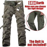 Camouflage Hunting Pants Men Tactical Military Clothing Combat Pants Trousers Tactico Hiking Fishing Camping Pants Men Hunter