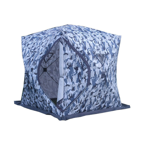 3-4 Person Use Winter Fishing Use Ice Fish Camping Tent Plus Cotton Outdoor Winter Fishing House