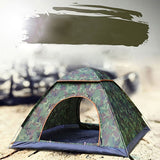 Outdoor Waterproof Hiking Camping Tent Anti-UV Portable 2 Person Ultralight Folding Tent Pop Up Automatic Open Sun Shade