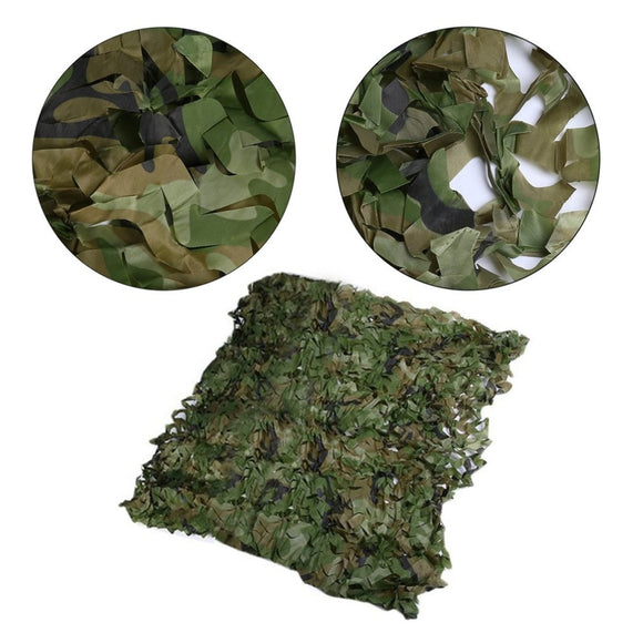 6m/5m/ 4m/ 3m Hunting Military Camouflage Nets Woodland Army training Camo netting Car Covers Tent Shade Camping Sun S