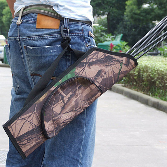 Hunting Bow Arrow Rest Compound Bag Quiver Archery Arrowhead Fiberglass Arrowfor Recurve Practice 50*14cm5
