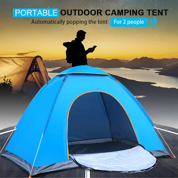 Outdoor Automatic Tents Camping Waterproof Tents 2 People Portable folding tent Beach Camping Travel Hunting