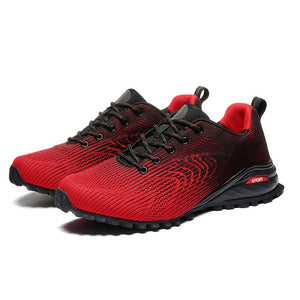 Outdoor Trail Shoes Men Big Size 39-50 Hiking Sneakers Male Light Climbing Mountain Shoes Spring Breathable Trail Sneakers