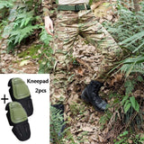 Outdoor Camouflage Hunting Pants Military Clothing Army Combat Fishing Hunter Pants Knee Pads Tactical Gear Hiking CS Clothes