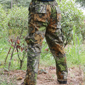 hunter camouflage hunting outdoor bionic clothing tactical clothes men's outdoor hiking fishing jungle hunting long trousers