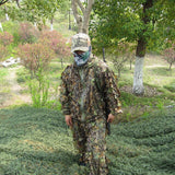 3D Leaf Hunting Ghillie Suits Camouflage Hunting Clothes Watching Birds Suit Hunter Shooting Clothes Sniper Camuflaje Clothing