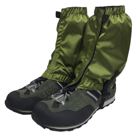 Outdoor Waterproof Hiking Walking Climbing Hunting Snow Legging Gaiters Ski Gaiters Shoes Cover Anti-fall Cloth Cover