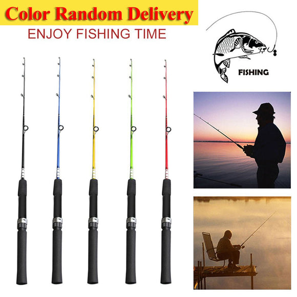 Solid High Carbon Fiber Fishing Rod Pole Fishing Tackle Fishing Accessories For River Lake Sea 120/135/150cm  New