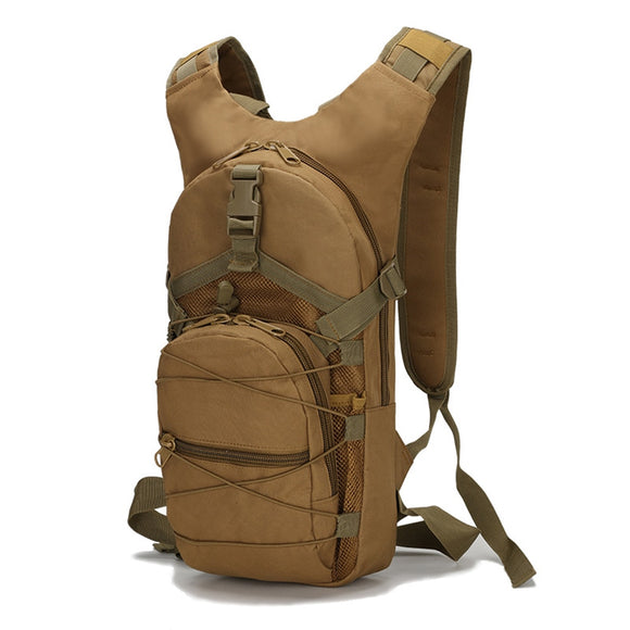 15L Tactical Backpack 800D High Density Oxford Cloth Military Hiking Backpack Waterproof Cycling Climbing Hunting Camping Bag