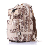 Outdoor Camouflage Attack Sports Hiking Backpack Portable Bag Tactical Riding Package Mountaineering Hunting Camping Bag