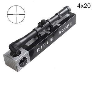4x20 Hunting Riflescopes Holographic Sight Tactical Optics Airsoft Air Guns Shooting Scopes Sniper Reticle Pistol Reflex Sight