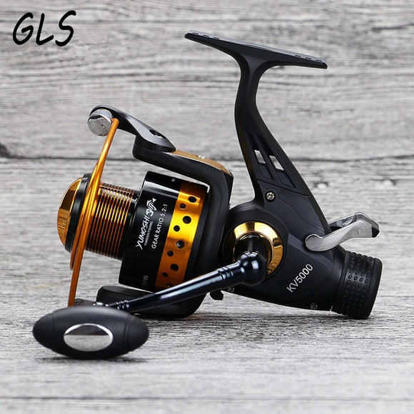 Real 14BB 5.2: 1 Metal seamless fishing reel Weight 500g Maximum drag weight 10 kg carp fishing reel sea rod reel fishing tackle