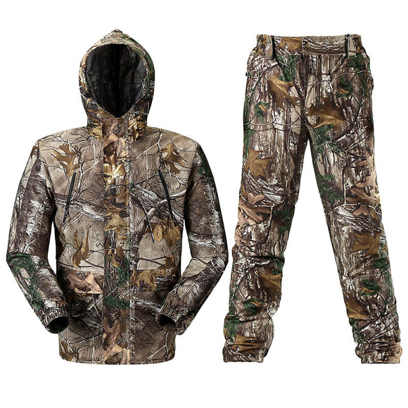Breathable Bionic Camouflage Hunting Clothing  Hunting Ghillie Suit Camouflage Hunting Jacket Pants Hunting Suit Hunter Uniform