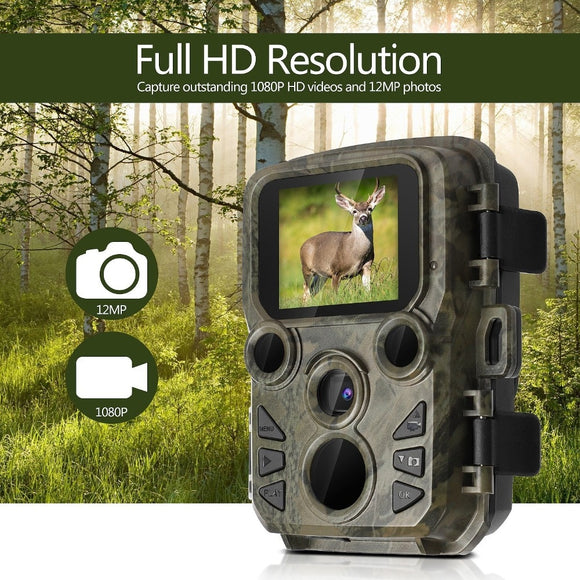 Portable Waterproof Solar Powered Full HD Resolution Camera