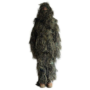 Outdoor Jungle Desert Snow Camouflage Hunting Clothing Ghillie Suit Fishing Hunter Photography Suit Military Airsoft Suit