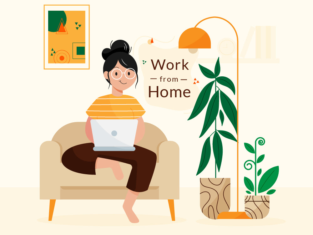 How to work from home with peace of mind?
