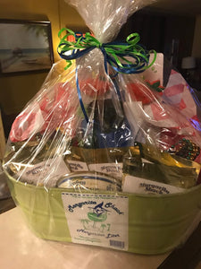 Margarita Glasses Gift Basket - Margaritashack