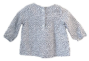 Carter's Hearts Blouse 6-12M