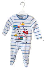 Load image into Gallery viewer, Bluezoo Car Sleepsuit 3-6M