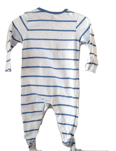 Bluezoo Car Sleepsuit 3-6M