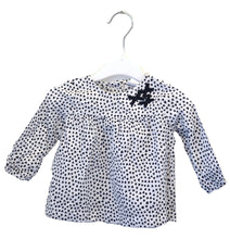 Load image into Gallery viewer, Carter's Hearts Blouse 6-12M