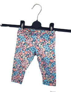 Carter's Floral Leggings 6M