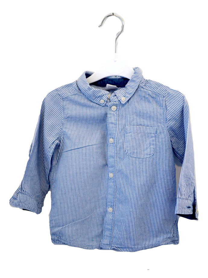 H&M Striped Smart Shirt 9-12M