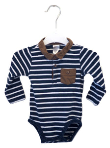 H&M Striped Bodysuit 4-6M