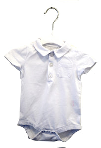 The Little White Company Short Sleeve Bodysuit 3-6M