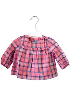 Gap Checkered Blouse 3-6M