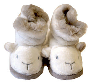 The Little White Company Warm Booties 6-12M