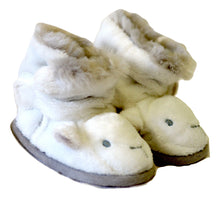 Load image into Gallery viewer, The Little White Company Warm Booties 6-12M