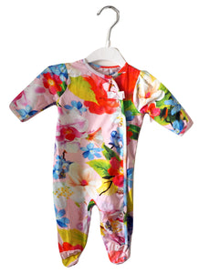 Baker by Ted Baker Floral Sleepsuit 0-3M